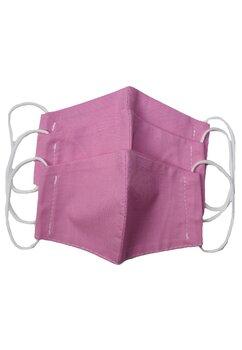Masca reutilizabila, set 3 buc,fete, 2-6 ani, roz