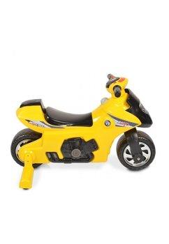 Motocicleta pentru copii, galbena