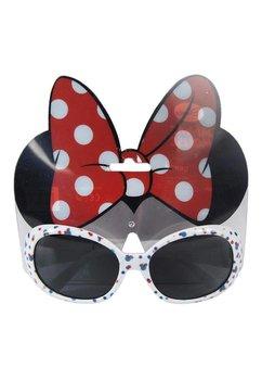Ochelari de soare, Minnie Mouse, bulinute, albi