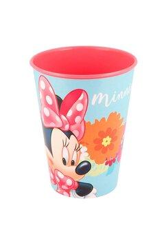 Pahar, Minnie Mouse flowers, turcoaz