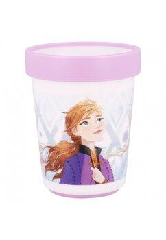Pahar plastic, Frozen, mov