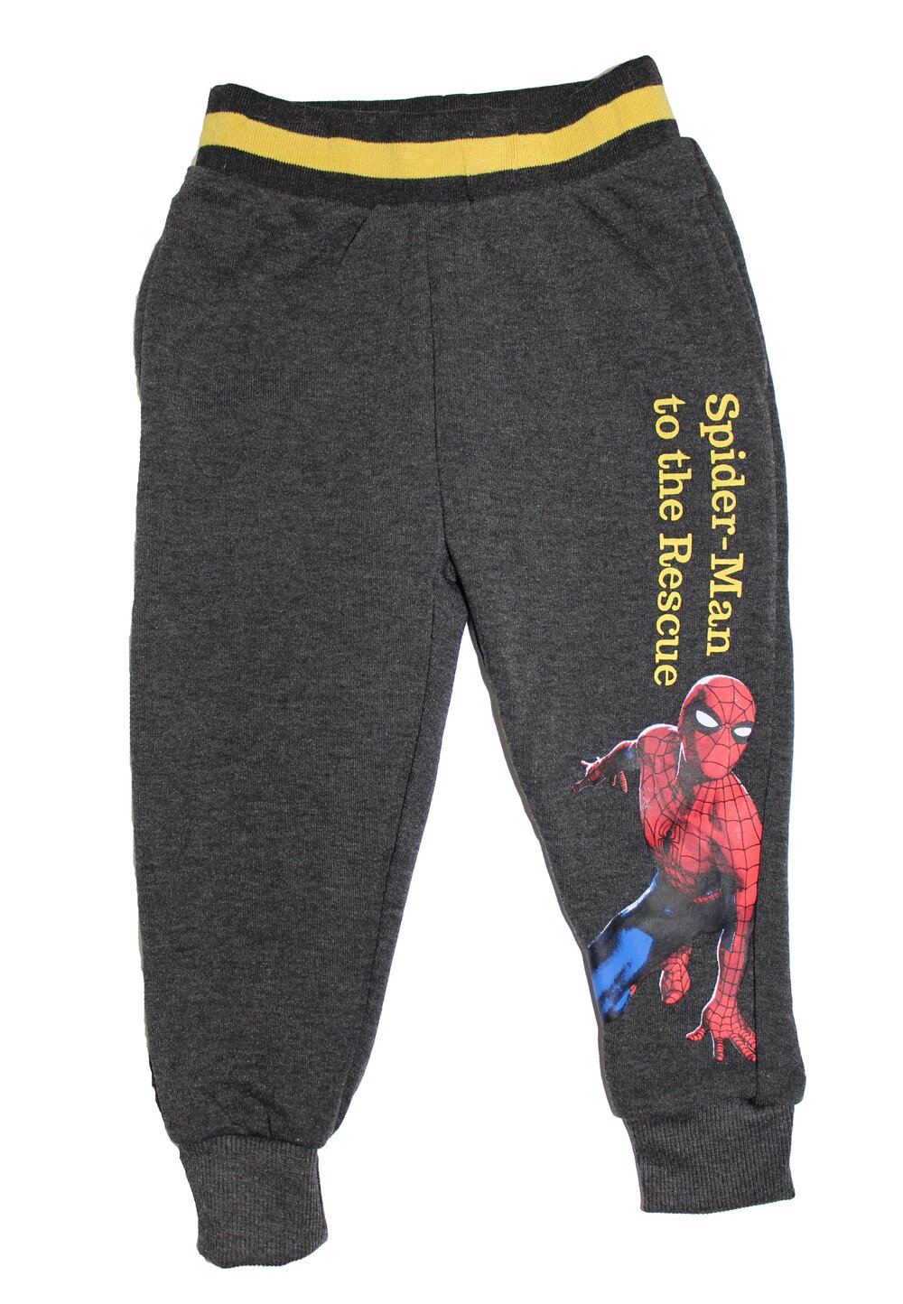 Pantalon de trening, Spider to the rescue, gri