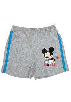 Pantalon scurt Mickey, bebe, gri