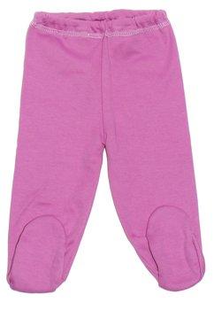 Pantaloni bebe cu botosi mov