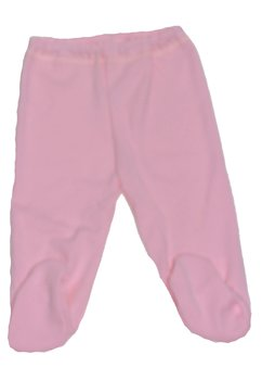 Pantaloni bebe cu botosi roz inchis