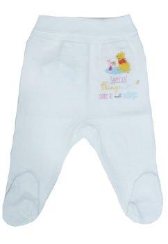 Pantaloni cu botosi, albi, Winnie the Pooh
