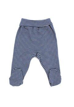 Pantaloni cu botosi, bluemarin cu dungi gri