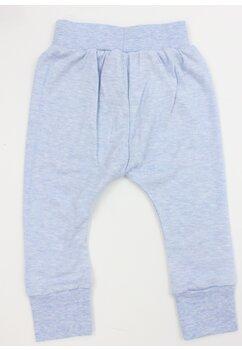 Pantaloni cu imprimeu, 55% bumbac, Minnie, albastru