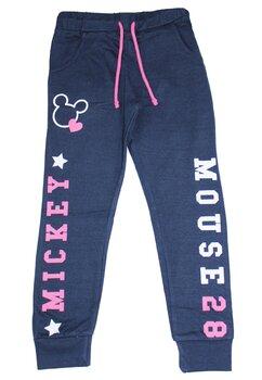 Pantaloni de trening, Mickey, bluemarin cu roz