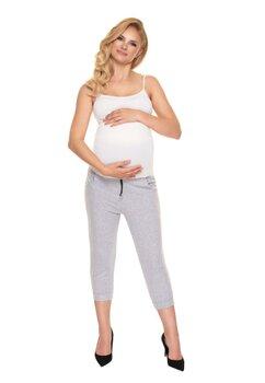Pantaloni gravide 3/4, gri