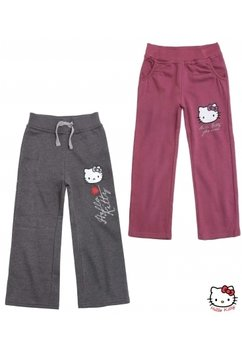 Pantaloni hello kitty gri