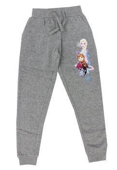Pantaloni trening, Frozen, gri cu buzunare