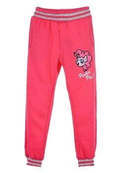 Pantaloni trening, Pinkie Pie!, roz cu broderie