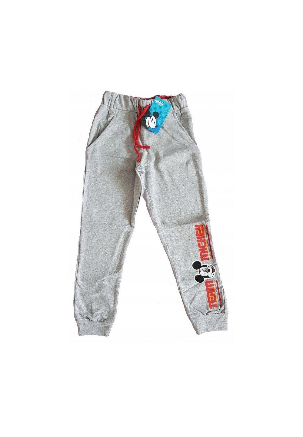 Pantaloni trening, Team Mickey, gri