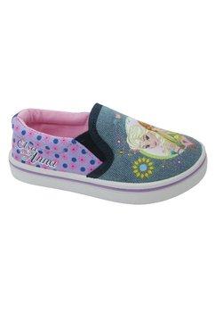 Pantofi panza ,Frozen,albastri