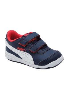 Pantofi sport, Puma, bluemarin cu rosu