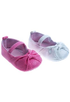 Papucei bebe cu elastic, roz