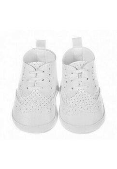 Papucei bebe, botez,albi