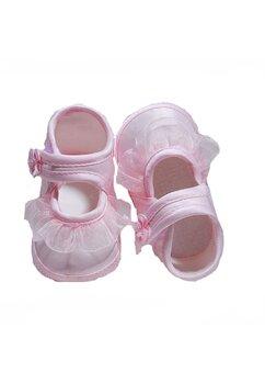 Papucei Mia, roz cu fodrita