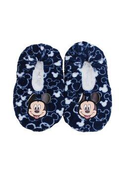 Papuci de casa cu blanita, Mickey Mouse, bluemarin