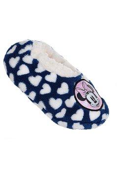 Papuci de casa cu blanita, Minnie Mouse, bluemarin