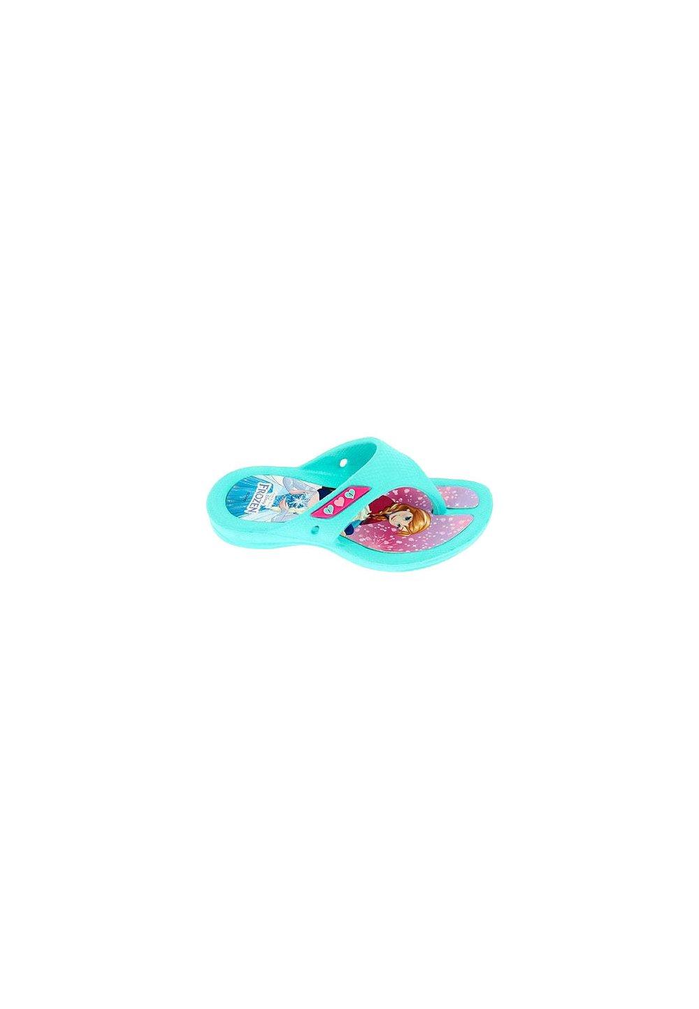 Papuci de plaja, turcoaz, Frozen