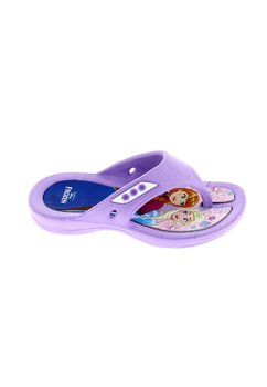 Papuci flip flop, Anna si Elsa, mov