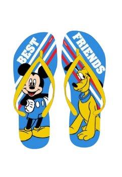 Papuci flip-flop, Best Friend, Mickey si Pluto, galbeni