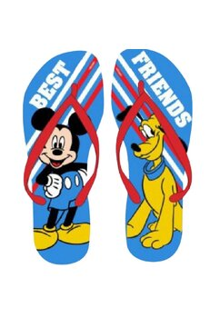 Papuci flip-flop, Best Friend, Mickey si Pluto, rosii