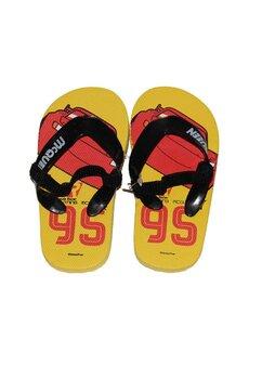 Papuci flip-flop, Fulger Mcqueen, galbeni