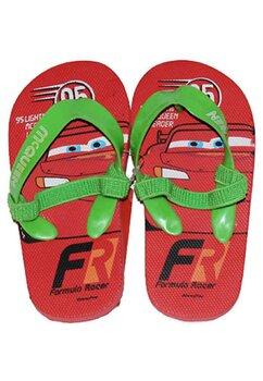 Papuci flip-flop, Fulger Mcqueen, rosii