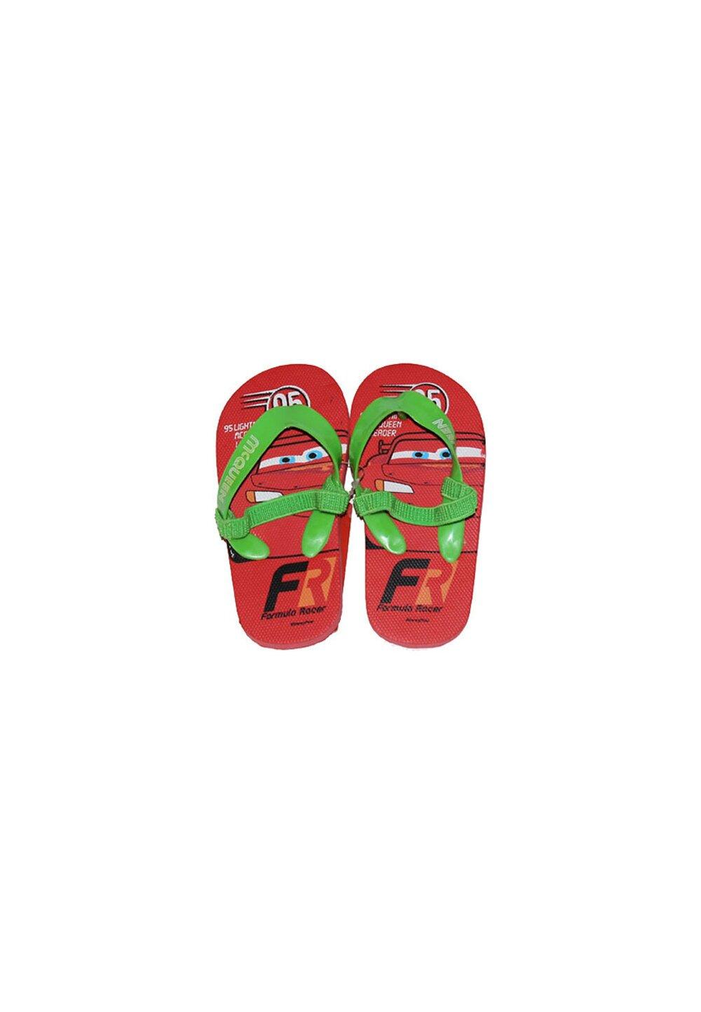 Papuci flip-flop, Fulger Mcqueen, rosii imagine