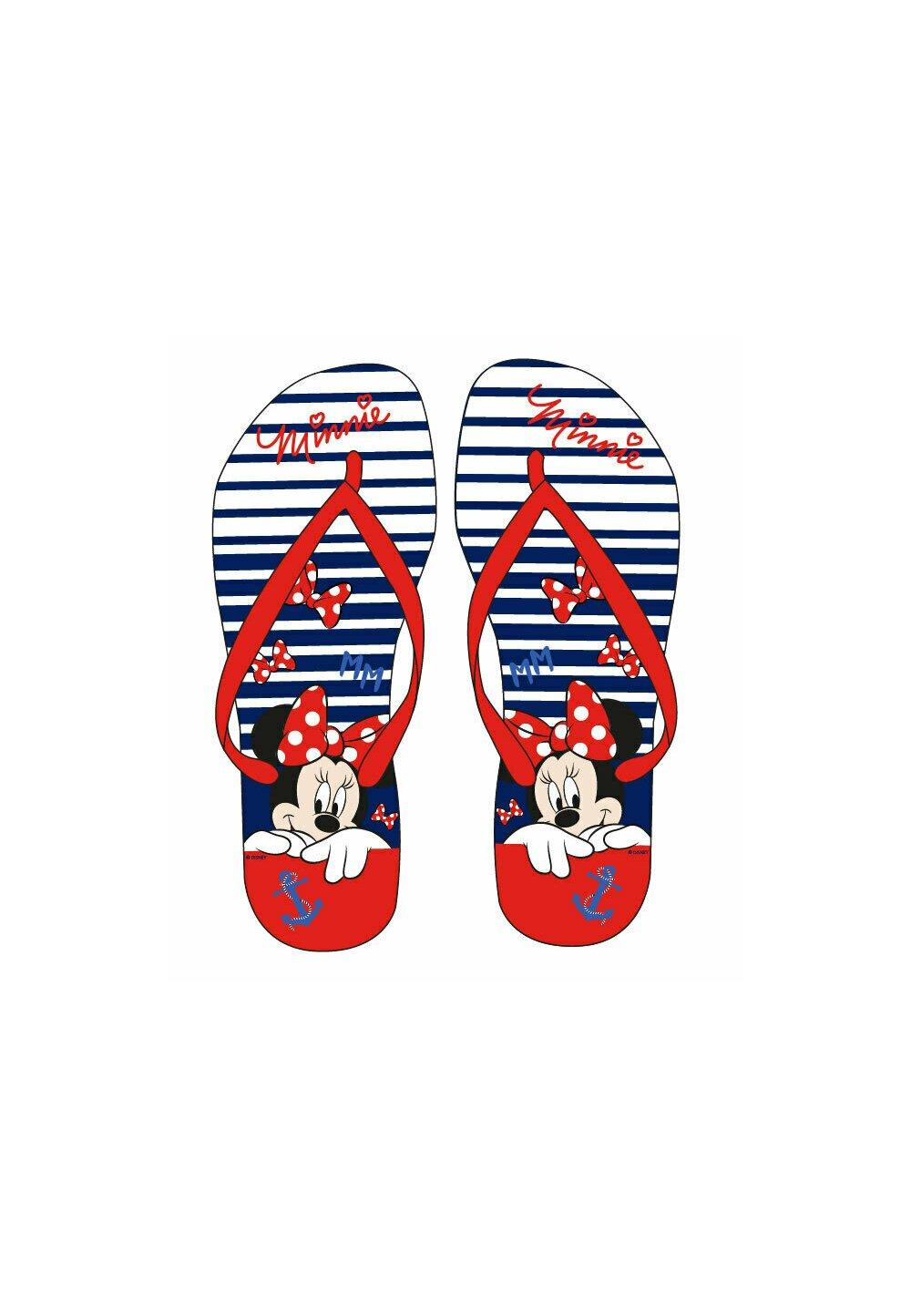 Papuci flip-flop, Minnie cu ancora imagine