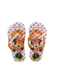 Papuci flip-flop, Minnie, cu buline rosii