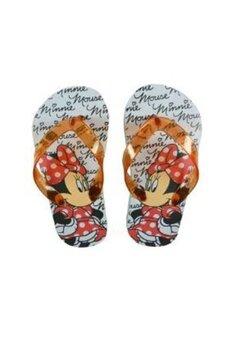 Papuci flip-flop, Minnie Mouse cu fundita rosie