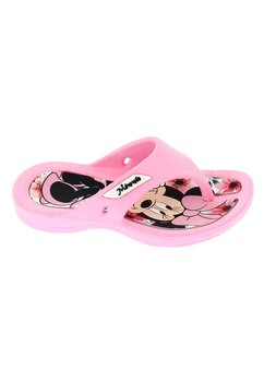 Papuci flip flop, Minnie, roz deschis