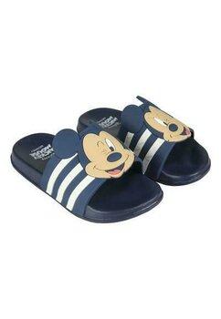 Papuci, Mickey M, bluemarin cu dungi albe