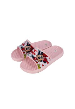 Papuci, Minnie, roz cu inimioare
