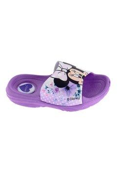Papuci, mov cu flori, Minnie Mouse