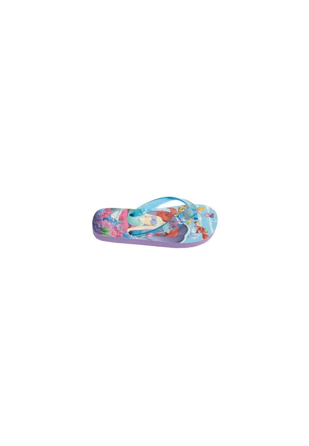 Papuci plaja Ariel violet imagine