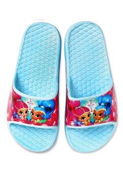 Papuci, Shimmer & Shine, albastru deschis