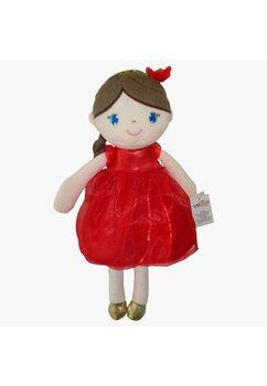 Papusa, Inez, cu rochie rosie