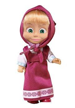 Papusa Masha, cu rochita mov