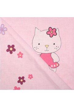 Paturica 2 fete, Minky roz, Kitty