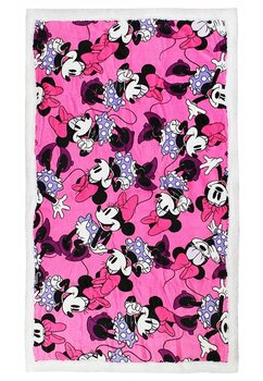 Paturica cu blanita, Minnie Mouse, roz cu mov 90x140cm