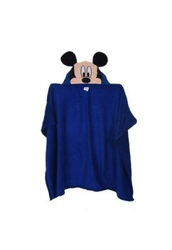 Paturica cu gluga, Mickey Mouse, albastra, 80x120cm