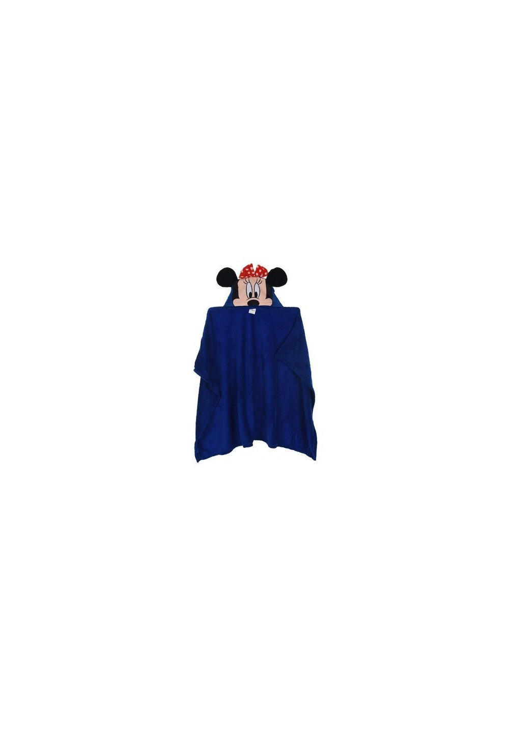 Paturica cu gluga, Minnie Mouse, albastra, 80x120cm imagine