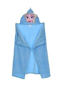 Paturica cu gluga, Printesa Elsa, albastra
