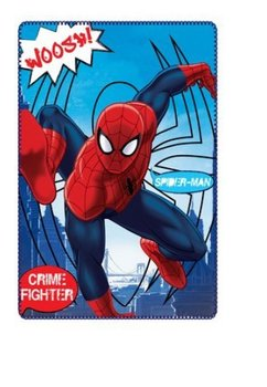 Paturica fleece, Spider-Man, crime fighter, 100x150cm