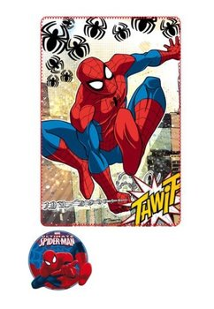 Paturica fleece, Spider-Man, Thwip 100x150cm